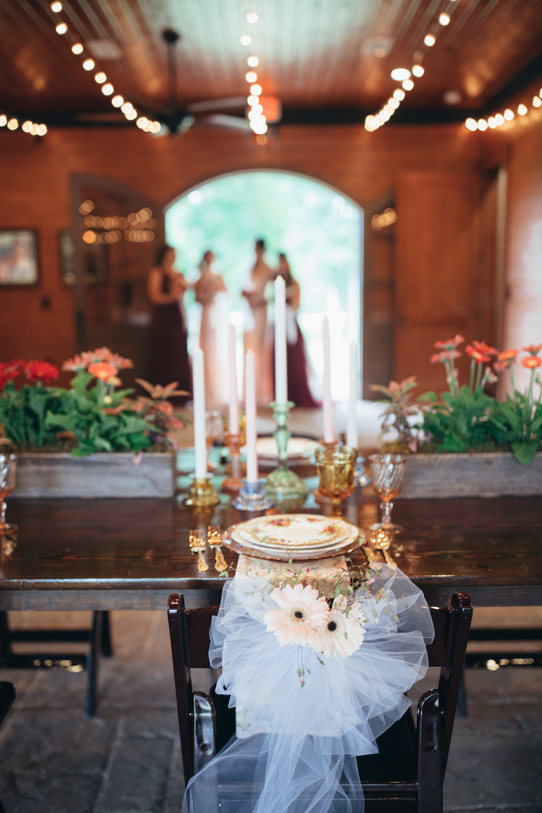 Table Decor | Girls Just Want to Have Fun Bridal Shower | Kate Aspen
