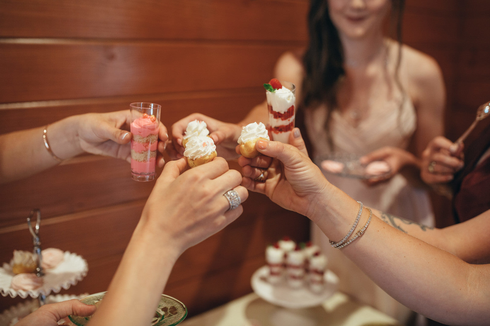 Detailed Food Shot | Girls Just Want to Have Fun Bridal Shower | Kate Aspen