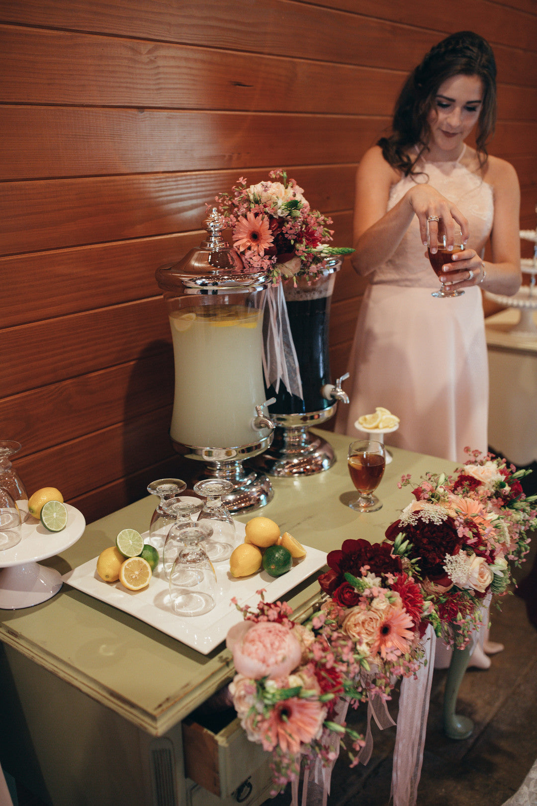 Drink Stand | Girls Just Want to Have Fun Bridal Shower | Kate Aspen