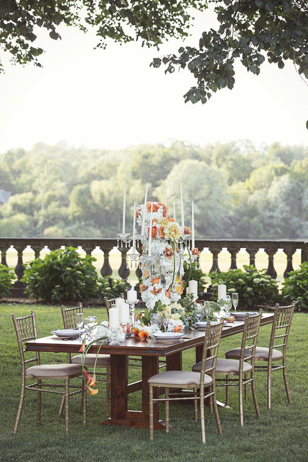 Outdoor Reception Table | Garden Wedding Ideas | Jaylim Studio |Kate Aspen