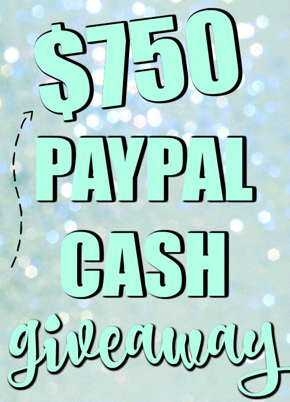 Paypal Cash Giveaway with Pretty My Party