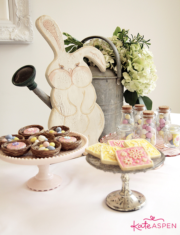 Pastel Easter Dessert Table - Kate Aspen
