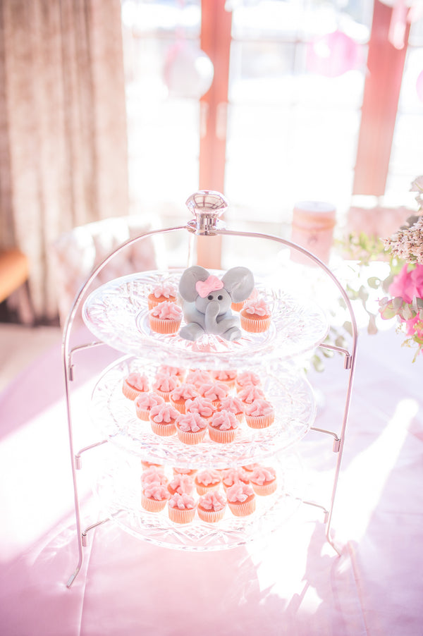 Pink Cupcakes | Pretty in Pink Baby Shower | Brit Perkins Photography | Kate Aspen