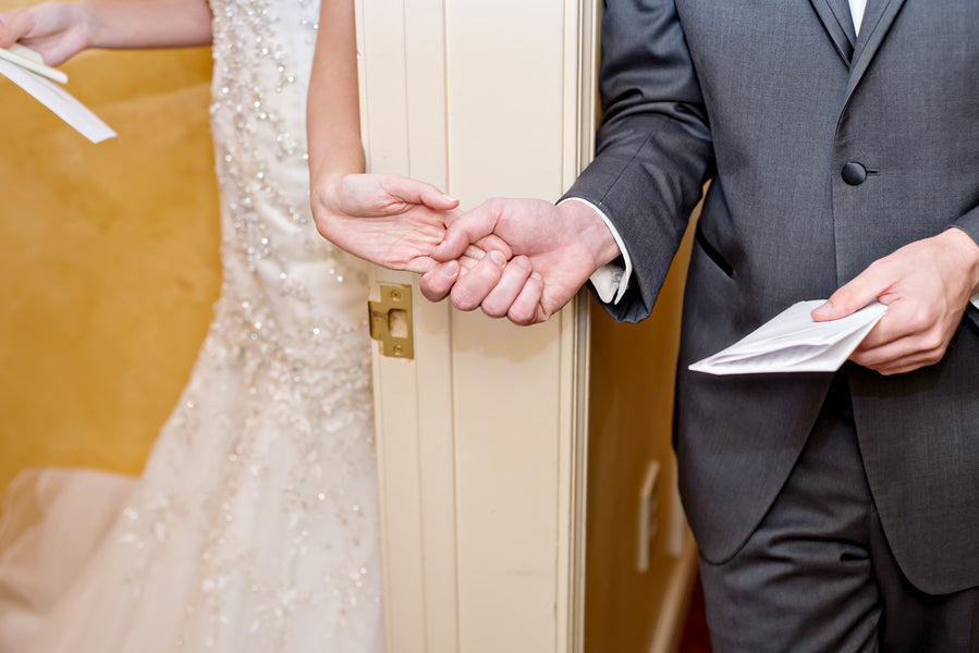 Skip the first look for this special moment | www.justadreamllc.com