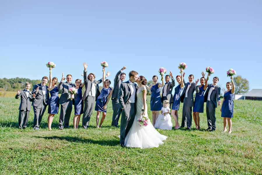 funny bridal party picture | www.justadreamllc.com