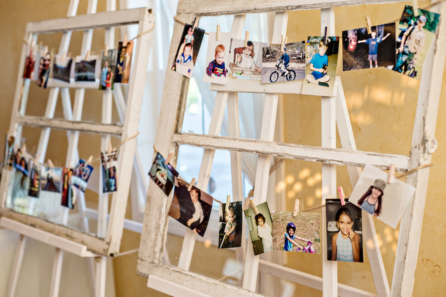 DIY Memory Lane Display | www.justadreamllc.com