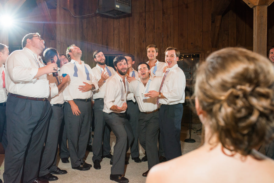 Fun Groomsmen | Southern Fall Plantation Wedding | Priscilla Thomas Photography