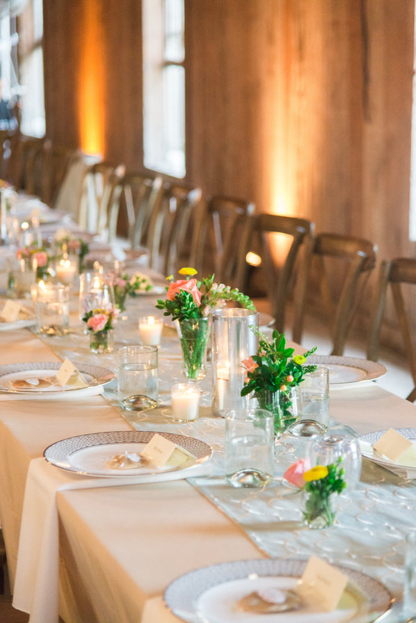 Dining Decorations | Southern Fall Plantation Wedding | Priscilla Thomas Photography