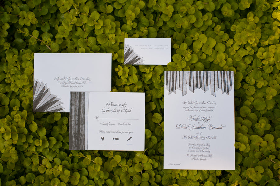 Wedding Invitation Suite | Suburbanite Photography