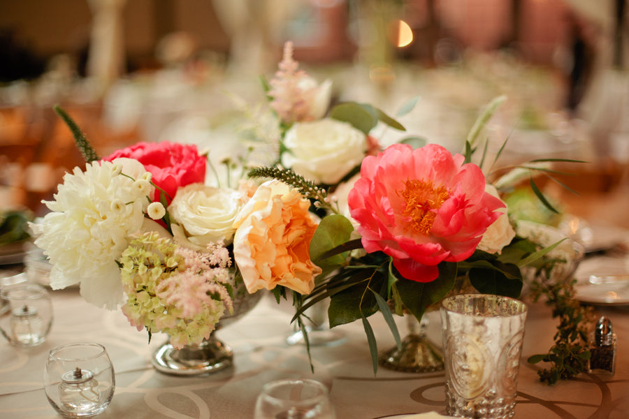 Floral Table Centerpieces | | Suburbanite Photography
