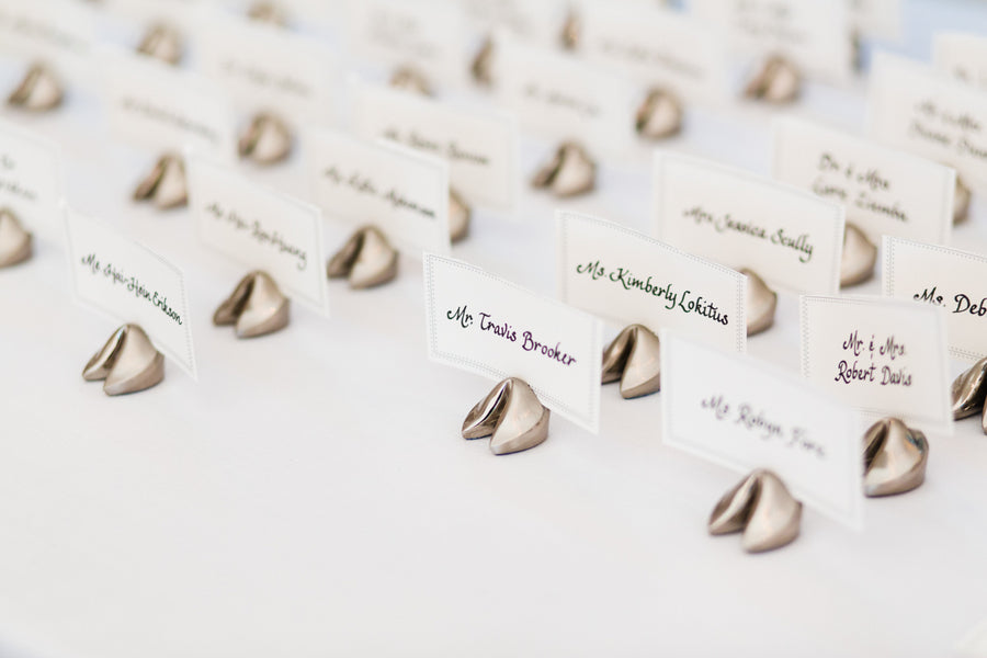 Place Card Holders | Southern Charm Meets Tropical Paradise | Kristen Browning Photography