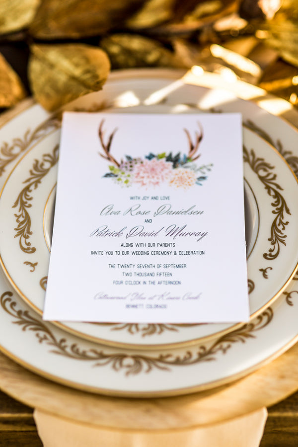 Vintage Place Setting | Al Fresco Vintage Wedding Shoot | Aldabella Photography