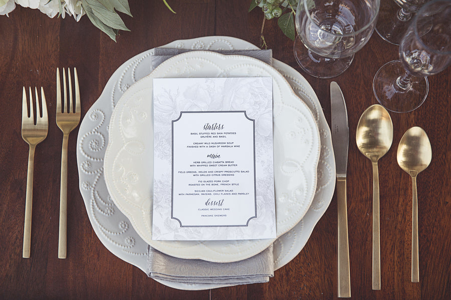 Place Setting | Garden Wedding Ideas | Jaylim Studio |Kate Aspen