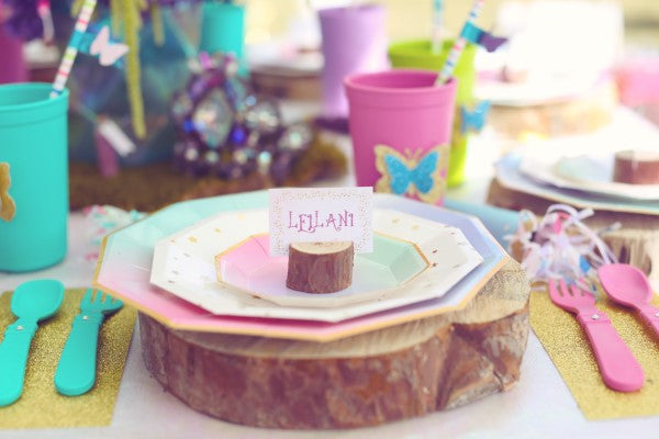 Place Setting | Unicorn Birthday Party | Sweet Jelly Parties | Bekah Peace Photography