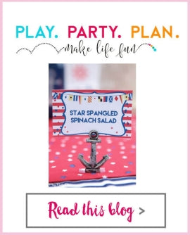 Play Party Plan - July 4th: Mason Jar Mugs, Nautical Anchor PCH