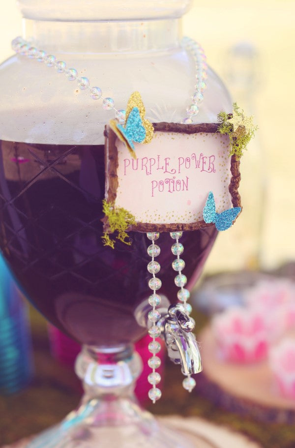 Purple Power Potion | Unicorn Birthday Party | Sweet Jelly Parties | Bekah Peace Photography