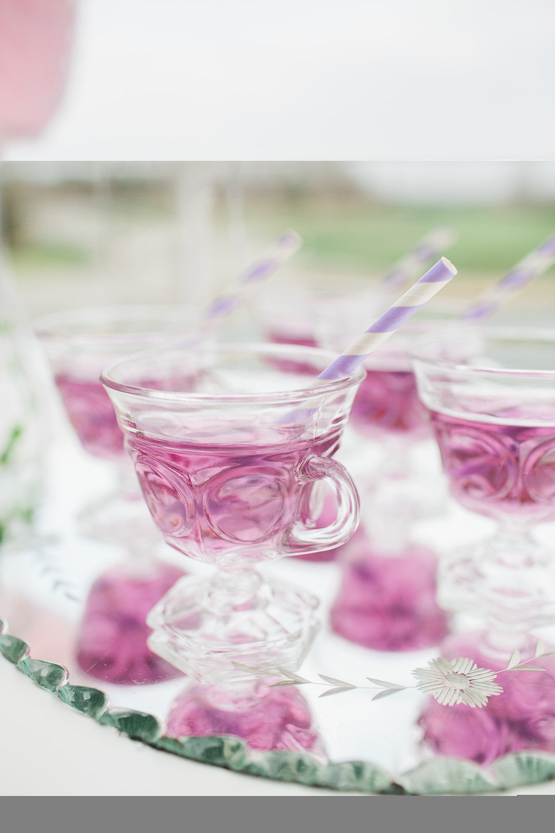 Purple Punch | Tips For the Perfect Floral Bridal Shower | Kate Aspen