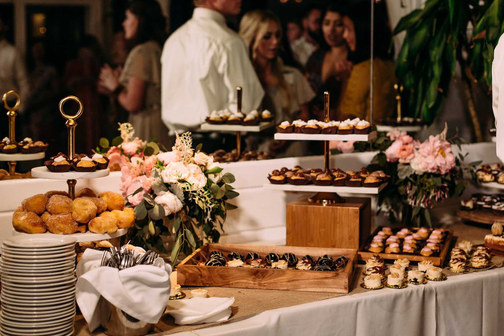 Dessert Table | A Summer Bohemian Wedding | Kate Aspen