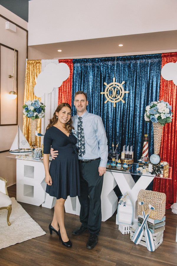 Parents | Anchors Away Baby Shower | Kate Aspen
