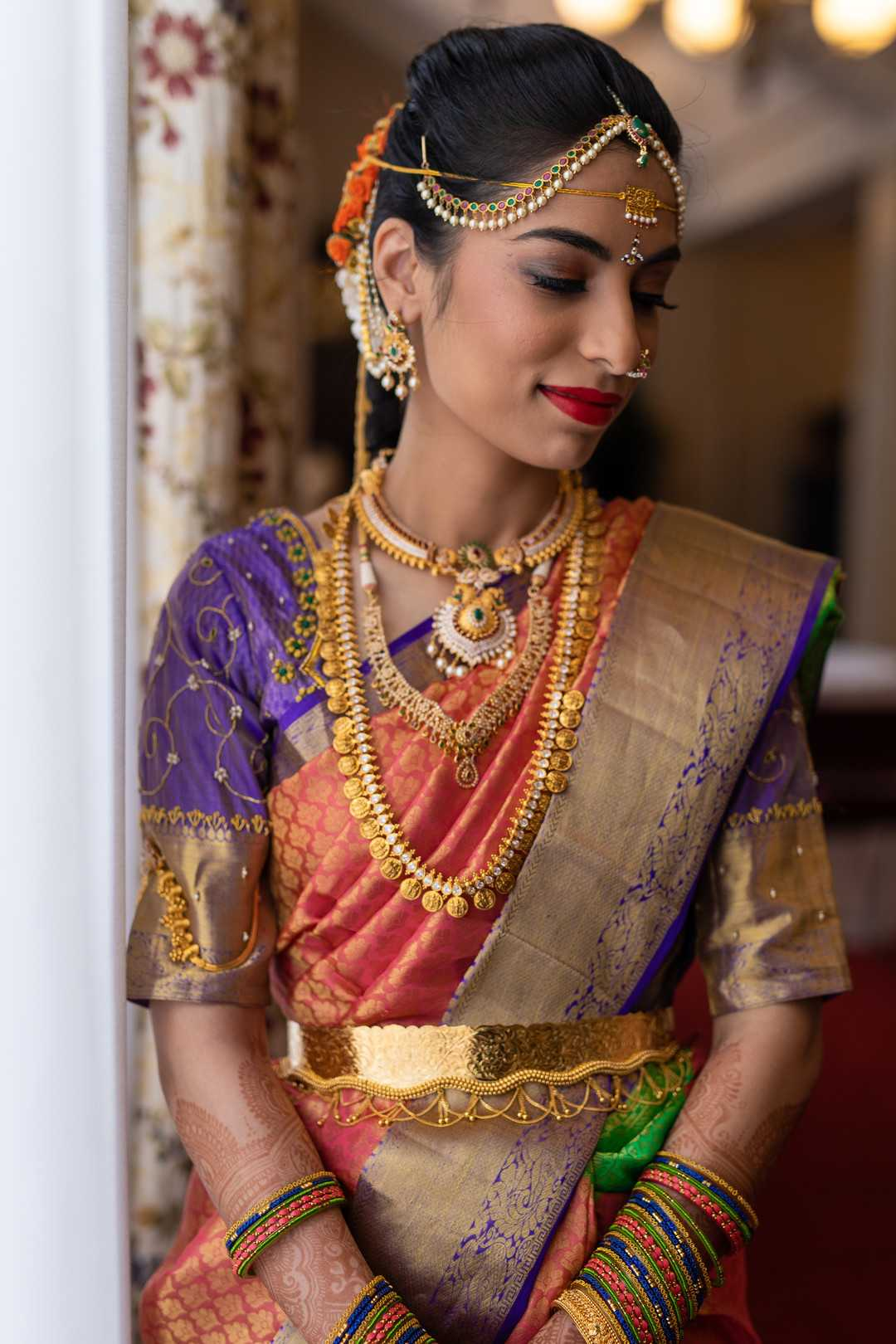 Bride | A Lavish Indian Wedding | Kate Aspen