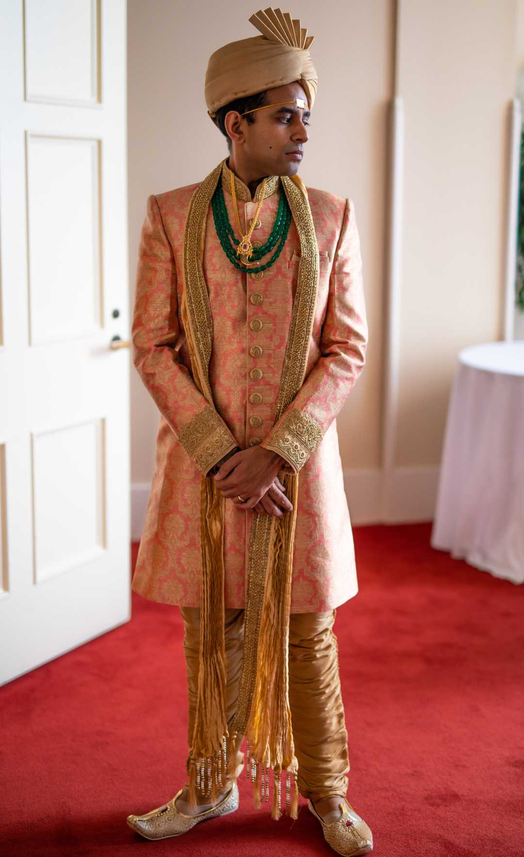 Groom | A Lavish Indian Wedding | Kate Aspen