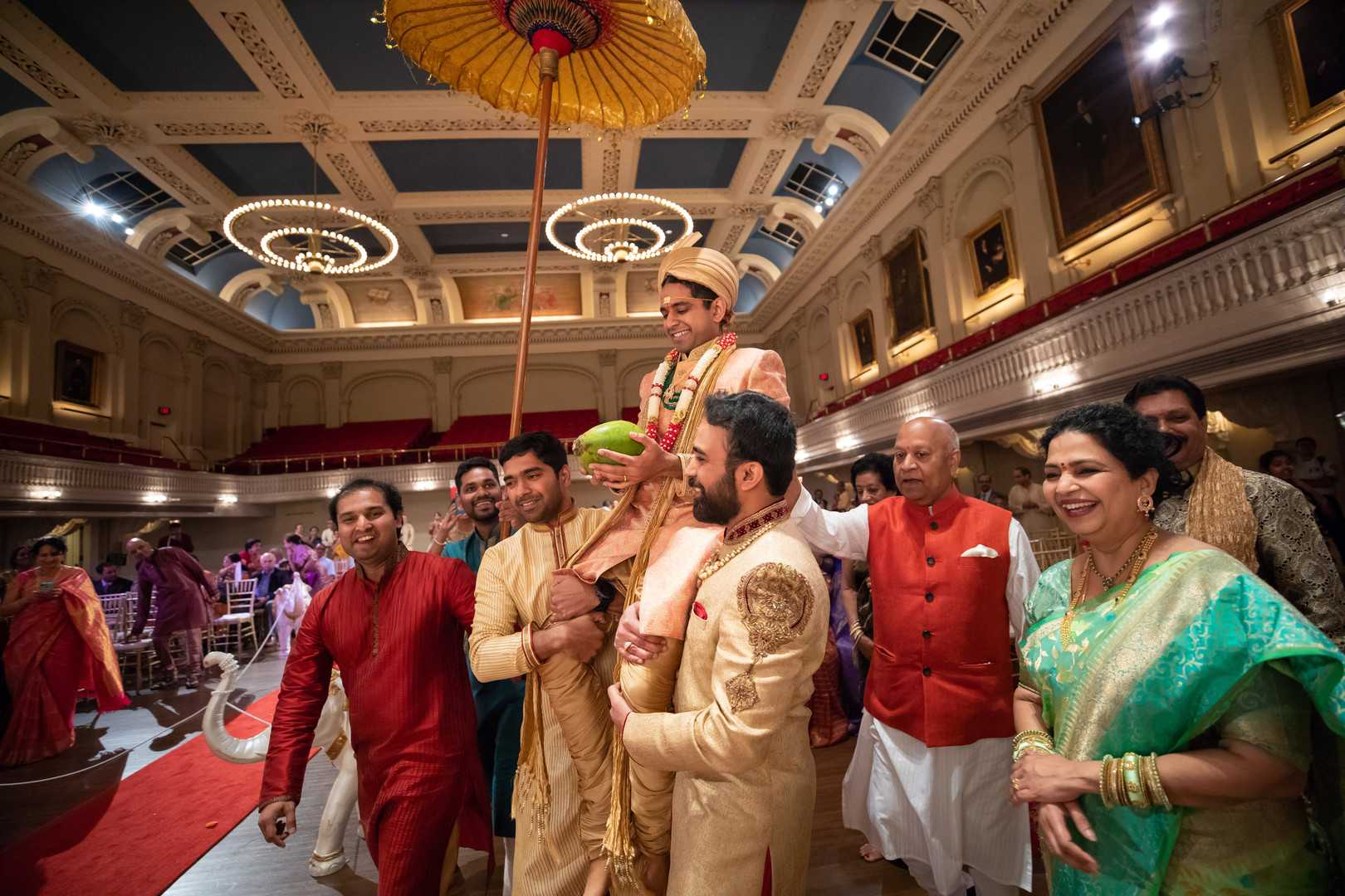 Groom and His Friends | A Lavish Indian Wedding | Kate Aspen