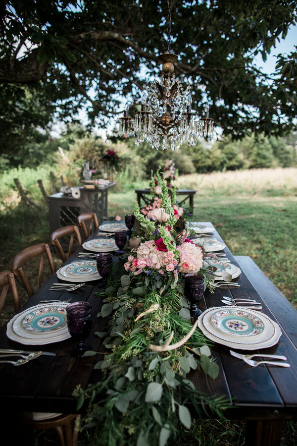 Reception Table Length | Details For The Perfect Floral Wedding | Kate Aspen