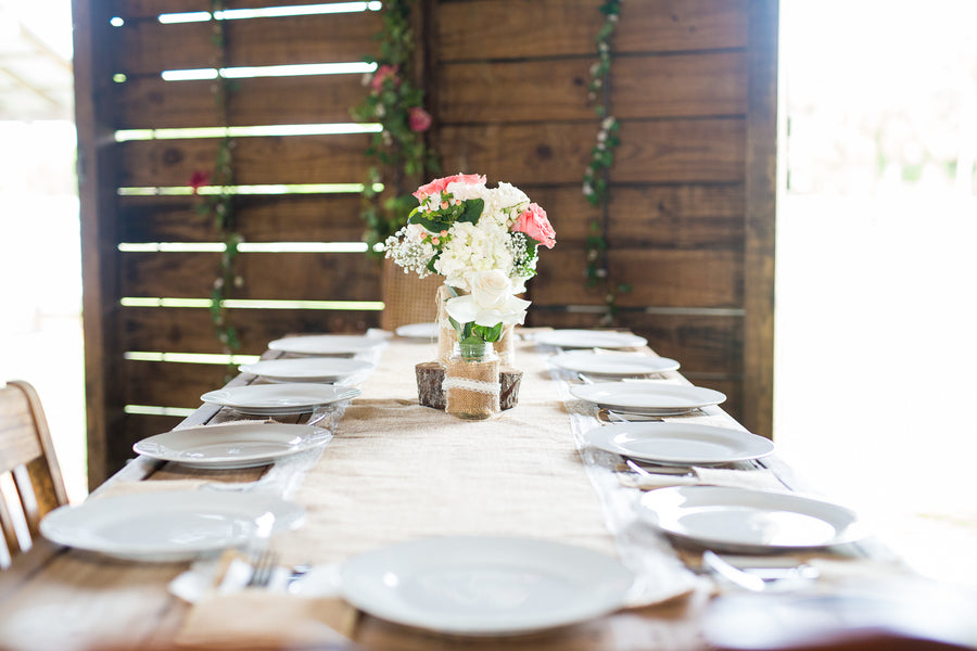 Reception Table | Whimsical Rustic Barn Wedding | McKenzie Stewart Weddings