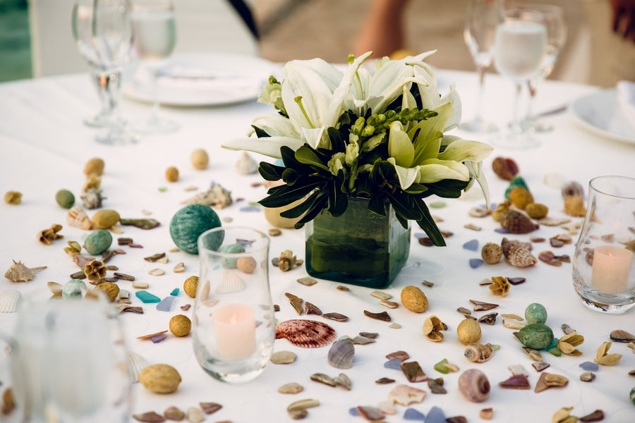 Reception Table | A Destination Wedding Weekend in Mexico | Kate Aspen