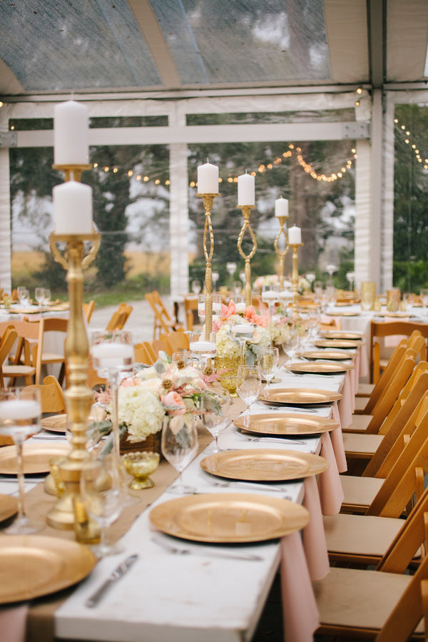 Reception Table | Charleston Wedding | Riverland Studios
