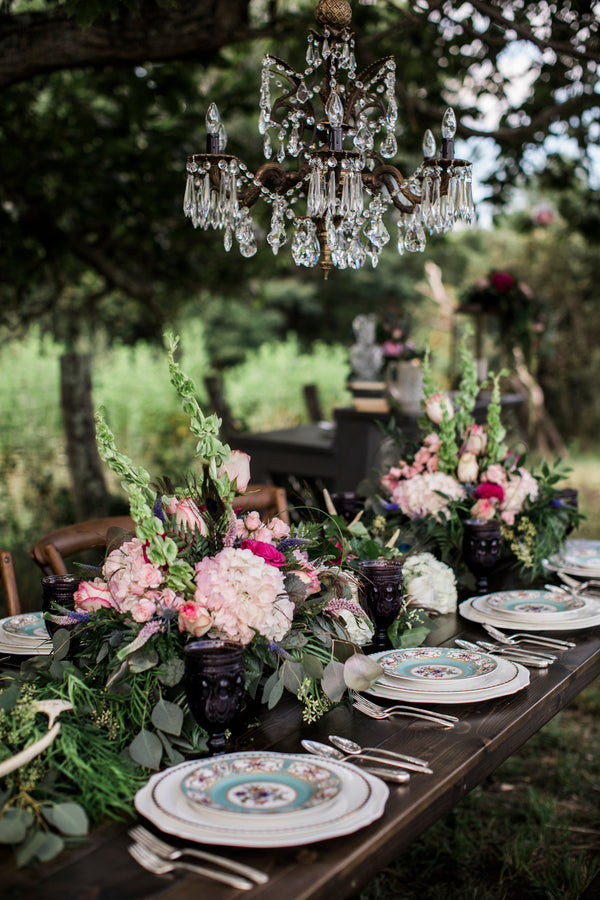 Reception Table | Details For The Perfect Floral Wedding | Kate Aspen