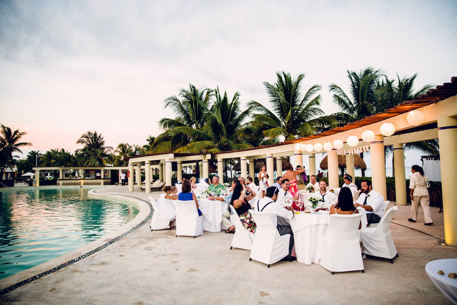 Reception | A Destination Wedding Weekend in Mexico | Kate Aspen