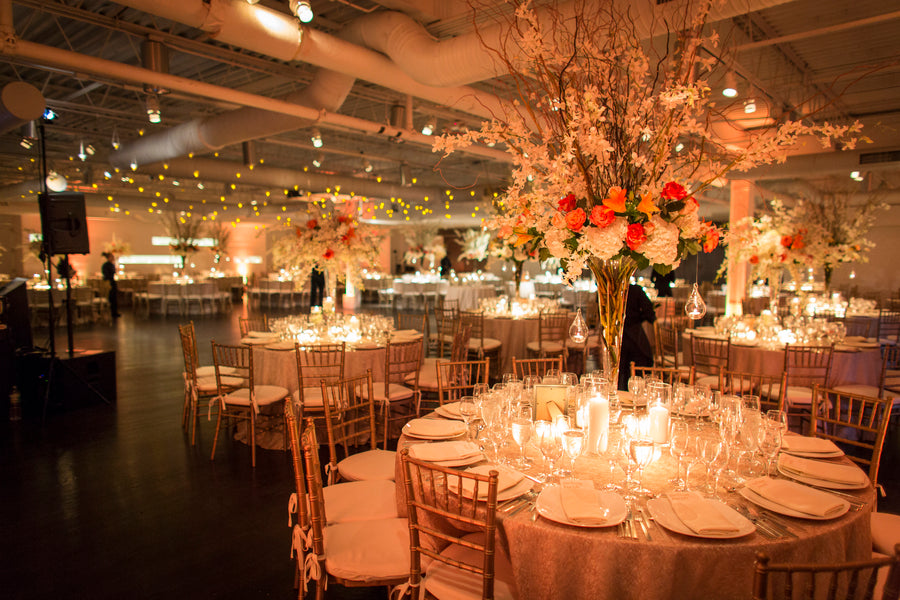 Reception | An Astounding Amber Wedding | Kate Aspen