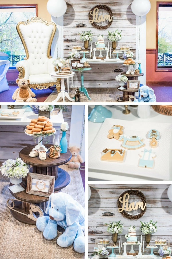 Rustic Chic Baby Shower | 10 Unique and Interesting Baby Shower Themes | Kate Aspen