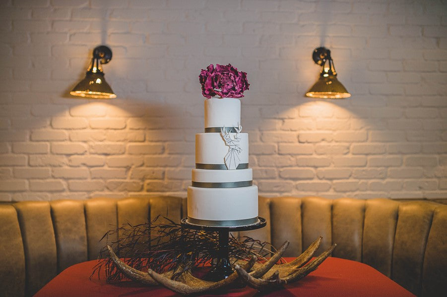 Wedding Cake | Art Deco Wedding Inspiration | Edward Lai Photography