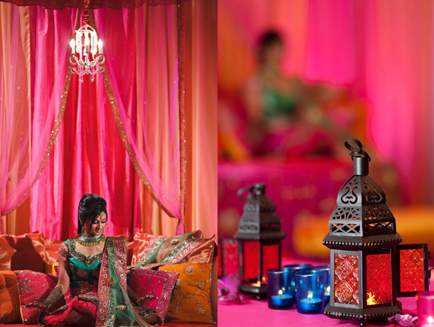 Sapna and Sanjeev Mehndi Party | Valerie Valdez via Table4Weddings