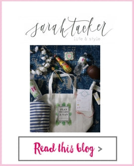 Sarah Tucker - Bachelorette Swag Bag: Pineapples and Palms