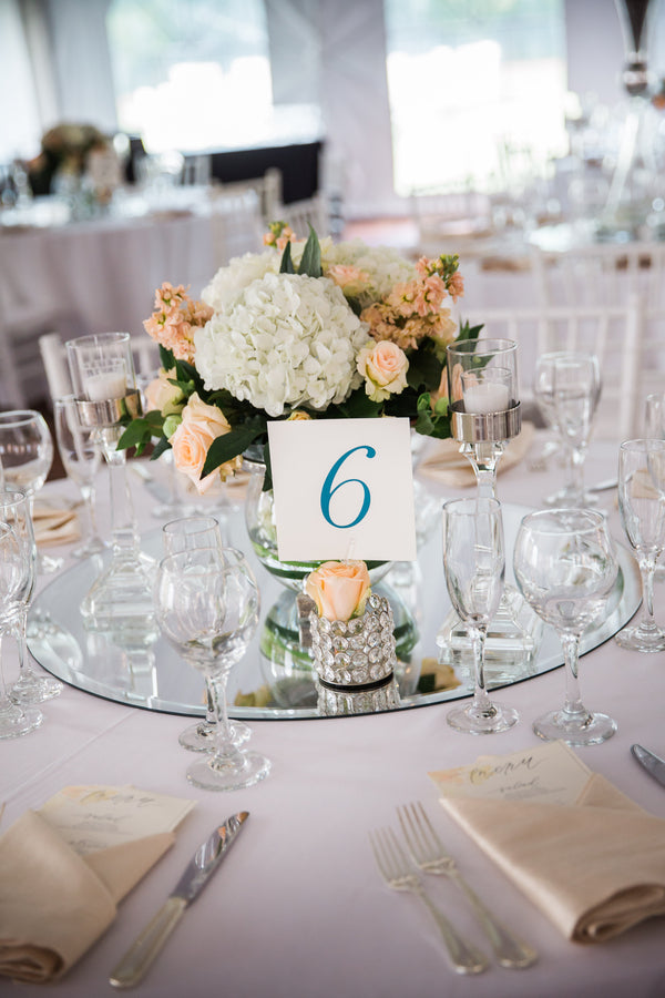 Table Decor | Asteria Photography | A Magical Middle School Sweethearts Wedding | Kate Aspen