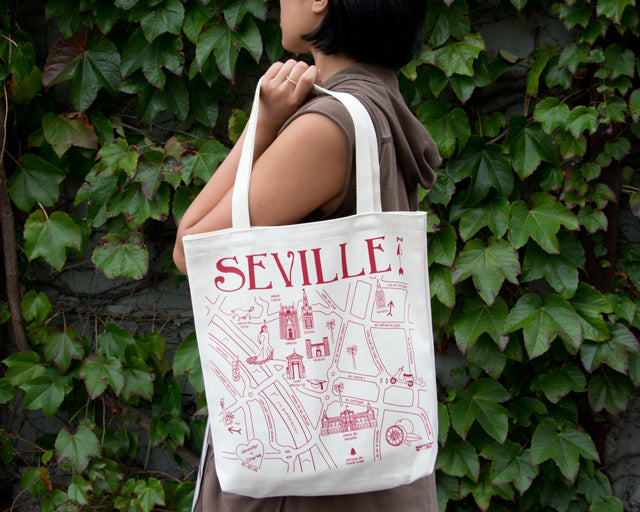 Seville Spain Custom - Maptote