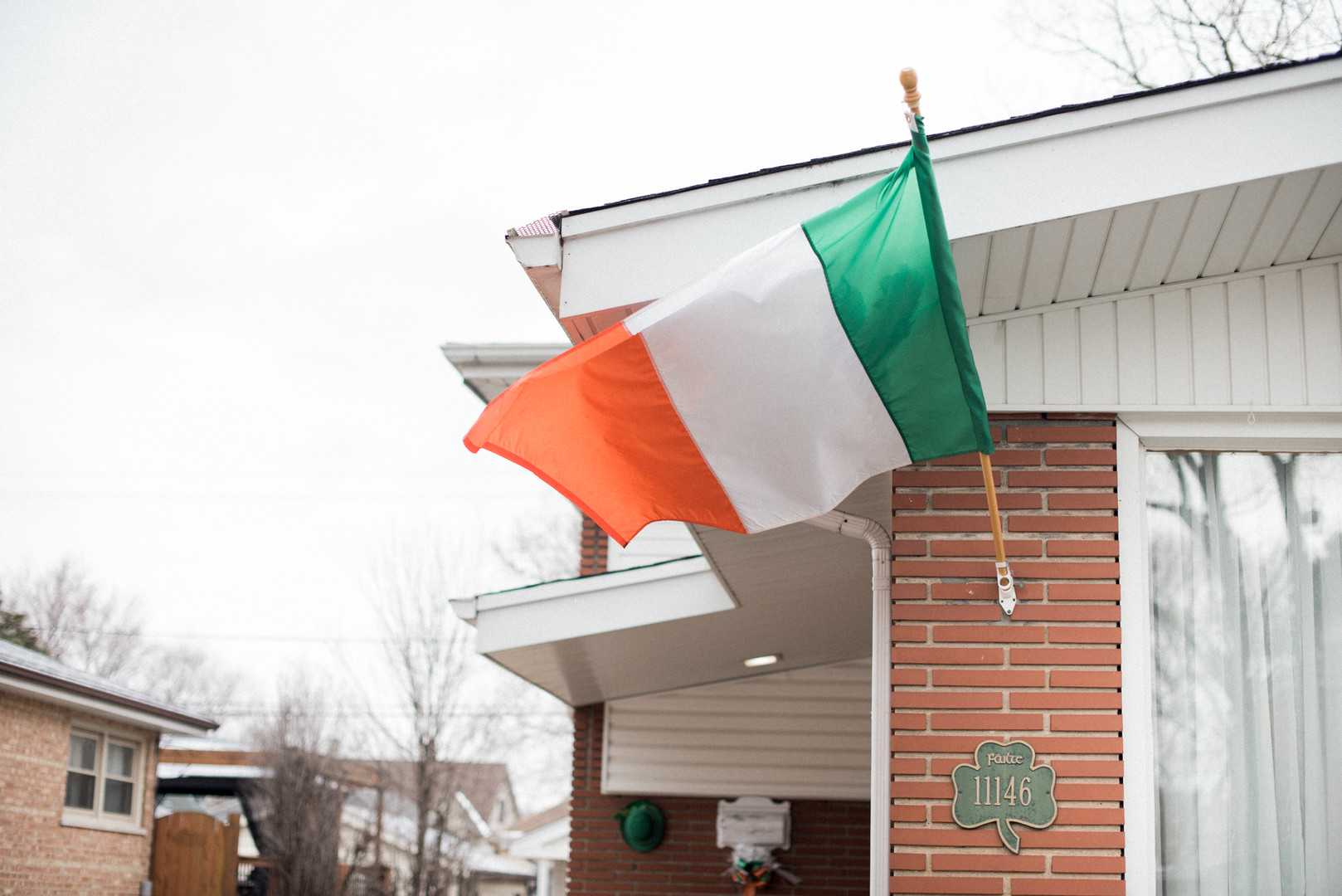 Irish Flag | A Stunning St. Patrick's Day Wedding | Kate Aspen