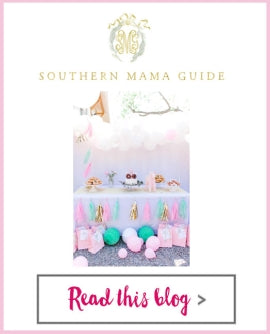Southern Mama Guide - Unicorn Party Kit, Unicorn Trinket Dish, Tea Time Paper Plates