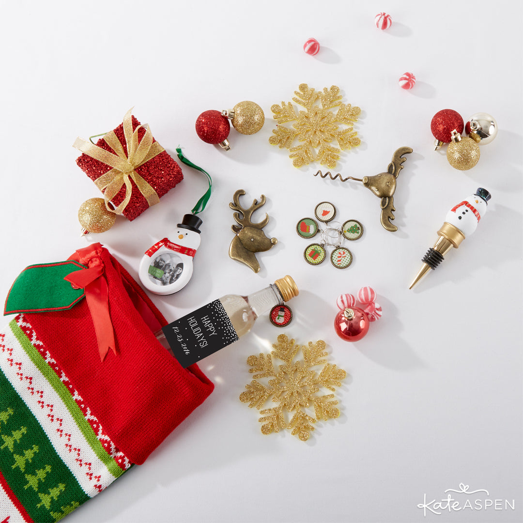 Stocking Stuffers Tablescape | Kate Aspen | Stocking Stuffers for the Holidays
