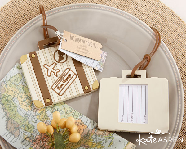 Suitcase Luggage Tag - Kate Aspen