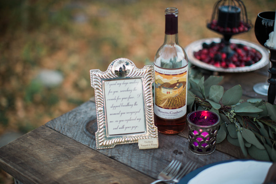 Sweet Sign | Wine Inspired Fall Wedding | Brooke Ellen Photography