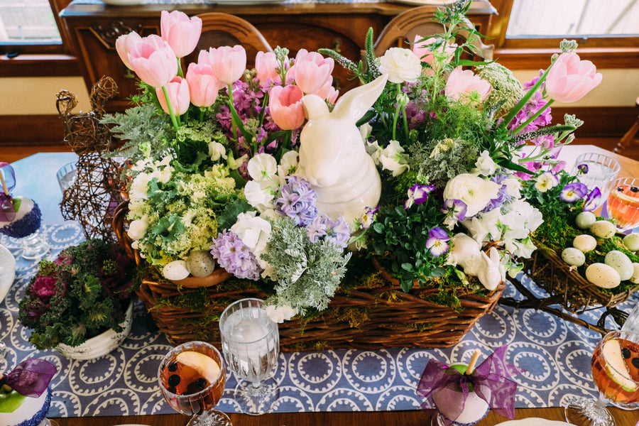 Spring Table Centerpiece  | Easter Brunch | Tim Chong