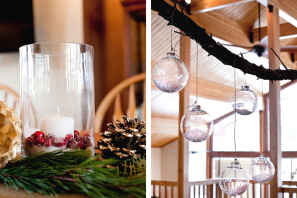 Winter Wedding Table Centerpieces and Decor  | Tana Photography | IDoWED McCall