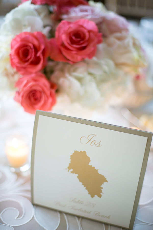 Table Number on Reception Table | Pink Traditional Orthodox Greek Wedding | Kelly Brown Weddings