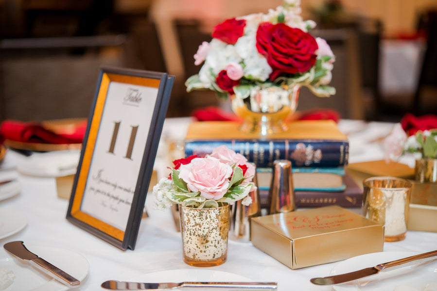 Table Setting | A Vibrant Indian Fusion Wedding | Kate Aspen