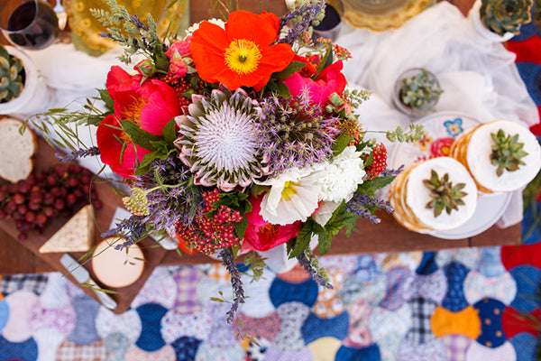 Boho Inspired Table | Rebecca Anne Photography