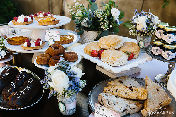 Dessert Table | English Garden Bridal Shower | Kate Aspen